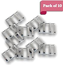 mistcooling Stainless Steel Safety Cover Buckle - 10 Pack