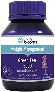 Henry Blooms Green Tea 5000 60 Vegetarian Capsules