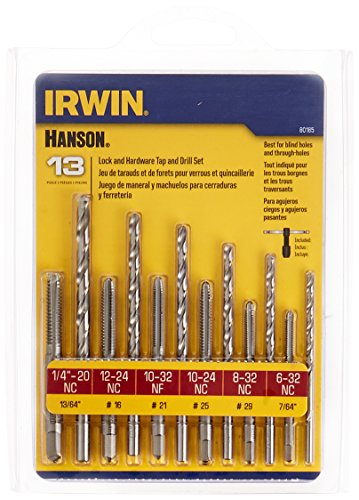 IRWIN Drill And Tap Set, 13-Piece (80185)