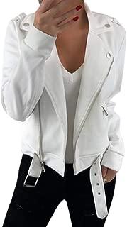 Holzkary Women's Fashion Long Sleeve Cardigans Jackets Open Front Short Shrugs Suit Loose Zip-up Coat