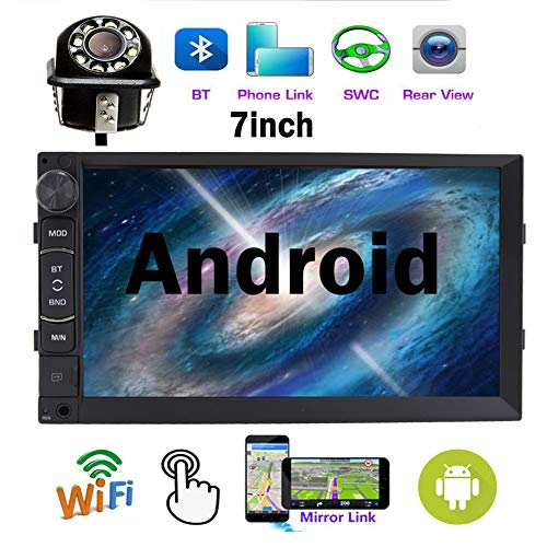 Fantastic Deal! NWE Version Double DIN 7 Android System 7.1 Car Stereo Bluetooth Touchscreen Suppor...