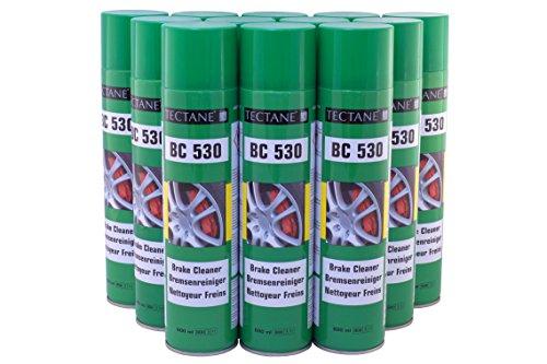 TECTANE Bremsenreiniger 3,33€/L BC530 Spray 12x 600ml