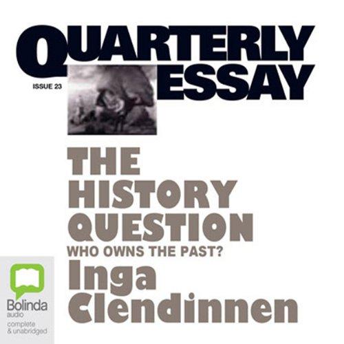Quarterly Essay 23 audiobook cover art