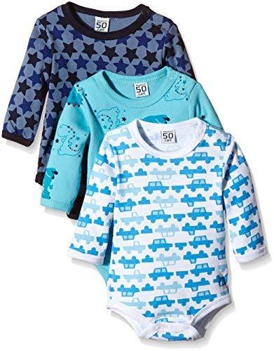 Care Body Bebé-Niños pack de 3,  Azul (Dark Navy 778), 80 cm