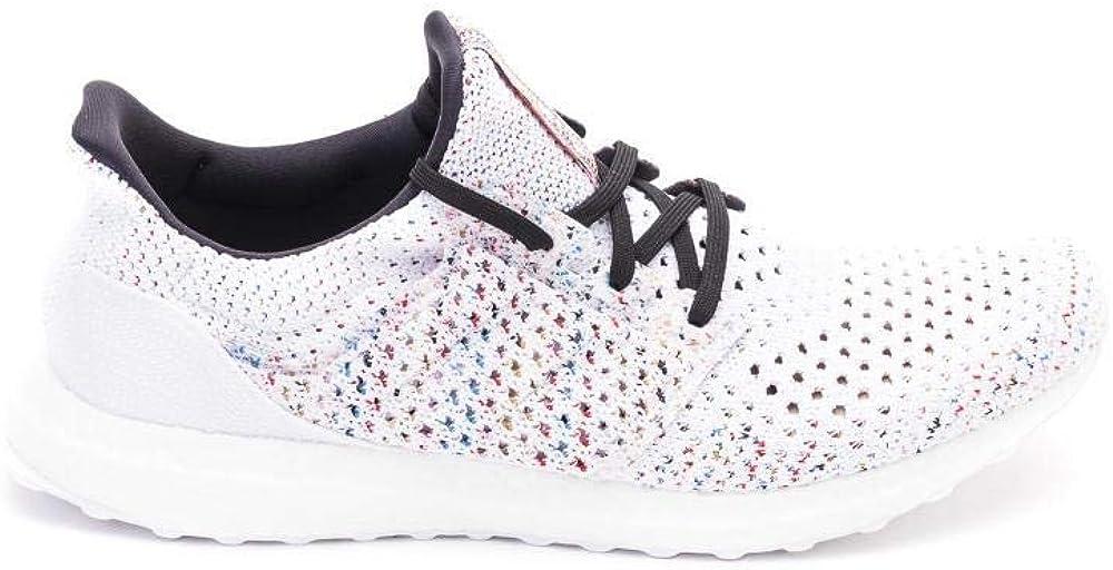 Adidas ultraboost per missoni,scarpe  sneakers  per uomo bianco,in maglia fiammata D97744