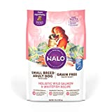 Halo Dog Food, Adult Dry Dog Food, High Protein, Wild Salmon & Whitefish 4-Pound Bag