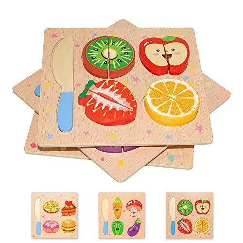 Puzzle in Legno per Bambini 3D Giocattoli Prescolare Educativo...