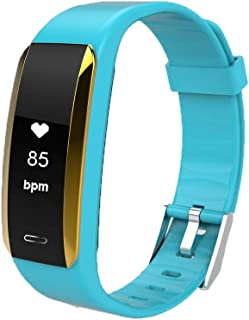 US Blue Robot V07 Smart Bracelet Blood Pressure Heart Rate Monitor Wristband Pedometer Sleep Monitor Fitness Tracker Smartband Watch for iOS 8.0/ Android 4.4