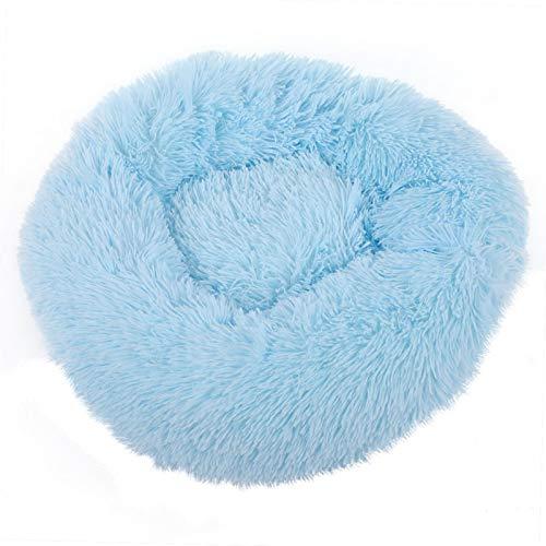 DAUERHAFT Estera para Dormir para Mascotas Antideslizante para Mascotas en Interiores y Exteriores de 50 cm de diámetro