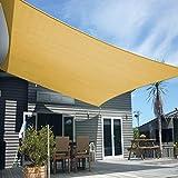 Artpuch Sun Shade Sail Canopy 12' x 16' Cover for Patio Outdoor, Rectangle Backyard Shade Sail for Garden Playground