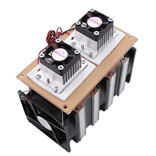Changor Refrigeración estable con semiconductor, función de deshumidificación, refrigeración y deshumidificación. Aislamiento térmico. Sistema de refrigeración de refrigeración con plástico.