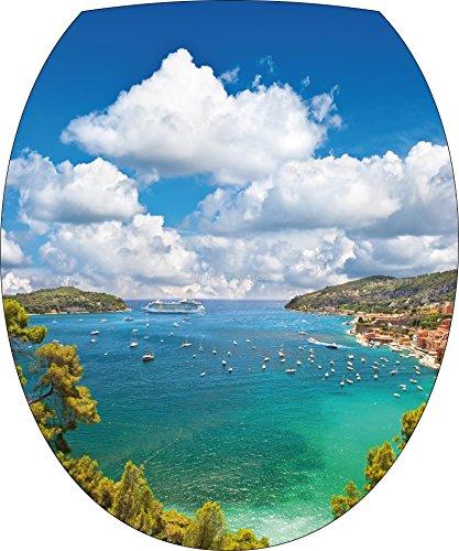 stickersnews–Adesivo WC, Adesivo per copriwater la mare 277