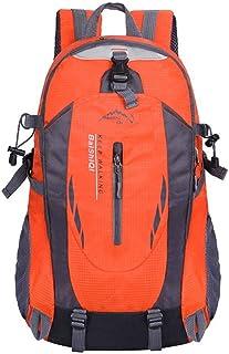 Waterproof Men Vacancy Backpack Waterproof Backpack Laptop Quality Designer Backpacks Male Female Bag Travel Bags(Orange,20 * 50 * 30cm)