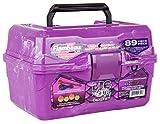 Flambeau Outdoors 355BMT Big Mouth Tackle Box - Purple Swirl - 89-Piece Kit, one Size