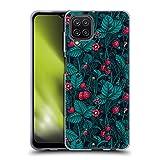 Head Case Designs Licenciado Oficialmente Katerina Kirilova Fresas Silvestres Patrones de Frutas y follaje Carcasa de Gel de Silicona Compatible con Samsung Galaxy A12 (2020)