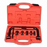 sailun 10piezas universal Válvula Compresor Compresor Válvula Tensor Tensor Muelle Kit sábana o herramientas para motores y motocicletas con maletín