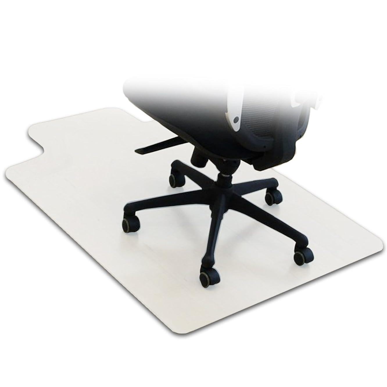 期限任意タクシーottostyle.jp 床を保護するチェアマット クリア 120×90cm 厚さ1.5mm フローリングや畳のキズ防止に 透明 学習 机 椅子 勉強 メモ 下敷 デスクワーク 撥水 カット可能