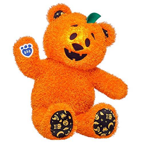 Build A Bear Workshop Pumpkin Glow Bear