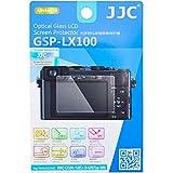 JJC Dedicated Tempered Glass Screen Protector Cover Shield for Panasonic DMC-LX100 LX100 II LUMIX TZ90 / ZS70 FZ85 TZ85 TX1 / ZS110 / ZS100 / TZ100 Leica D-LUX (Typ 109) D-LUX 7 Digital Camera