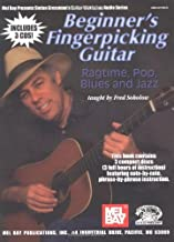 Beginner's Fingerpicking Guitar: Folk, Blues and Country (Book & CD) by Fred Sokolow (2004-02-26)