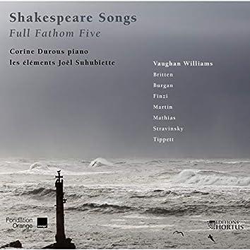 Shakespeare Songs: Full Fathom Five