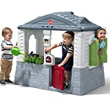 Step2 Lively Living Playhouse | Plastic Outdoor Playhouse for Kids