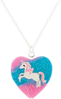 Best childs silver locket necklace Reviews