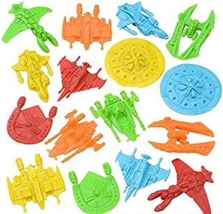 Rhode Island Novelty Plastic Space Ships Assortment Pack of 144
