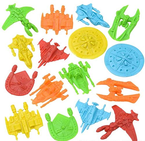 "1.75"" PLASTIC SPACE SHIPS"