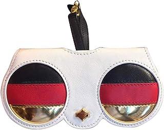 Loosnow Cute Cartoon Animal Sunglasses Case Women Portable PU Leather Case