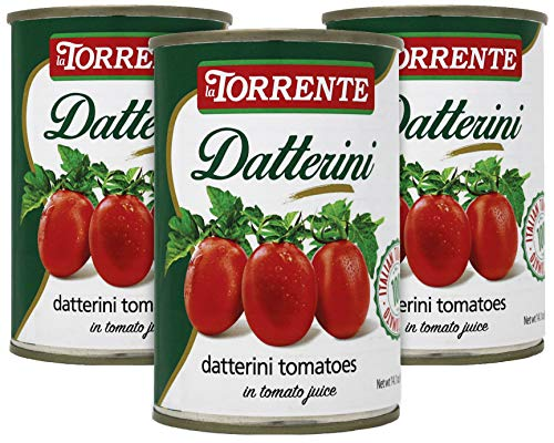 La Torrente Datterino Datterini Tomatoes 400g (3 PACK) Imported from Italy   All Natural   No...