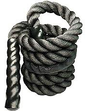 Fitness Heavy Jump Rope Vägt Battle Hoppa rep Power MMA träning Förbättra styrka muskel 25mm.