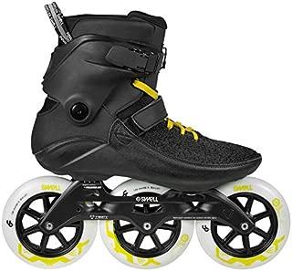 Powerslide Swell Black City 125mm 3 Wheel Inline Fitness Speed Skates