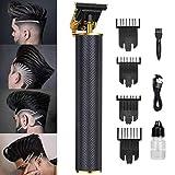 Cortapelos para hombres, nuevo actualizado cortapelos Pro Li Outliner Grooming con cuchillas en T recargable USB...