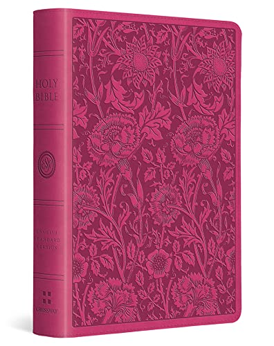 Compare Textbook Prices for ESV Large Print Compact Bible TruTone, Berry, Floral Design Large type / Large print Edition ISBN 9781433545771 by ESV Bibles