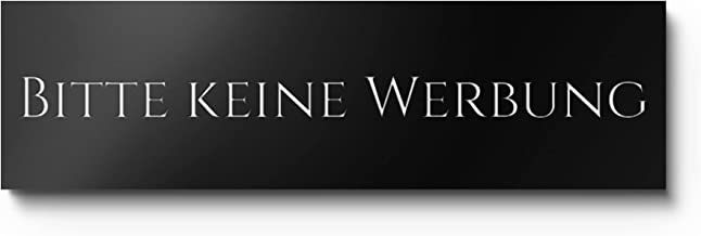 Brievenbus schild Geen reclame en gratis krant | Professionele gravure op kunststof | Robuust - weerbestendig - roestvrij...