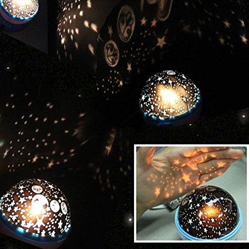 Bazaar Projecteur de nuit rotatif