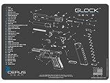 Cerus Gear Glock Gen3 Schematic Promat, Charcoal Gray/Cerus Blue