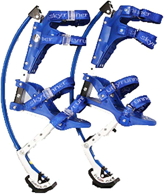 Unisex Adults Jumping Stilts Made of Aviation Aluminum Kangaroo shoes Fitness Exercise (44242 Ibs 20110kg),bluee,2040kg(Kid)