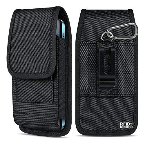 ykooe Funda Cinturón Vertical con Bloqueo RFID, Funda para Xiaomi Smartphone