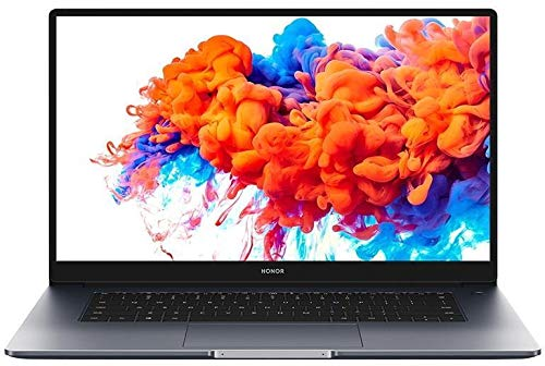 HONOR MagicBook 15 - 15.6 Inch Laptop with FullView 1080P Screen, All-Day Battery, 65 W Fast Charger, Fingerprint Login & Recessed Camera (AMD Ryzen 5, 8 GB RAM, 256 GB SSD, Windows 10 Home)