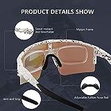 Zoom IMG-1 duduking occhiali ciclismo polarizzati con