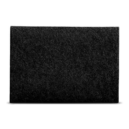 UC-Express Sleeve Hülle kompatibel für Lenovo ThinkPad T14 T14i T14s Tasche Filz Notebook Cover Laptop Case 14 Zoll, Farbe:Dunkel Grau