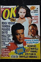 OK ! âge tendre 816 2 au 8 sept. 1991 Rock Voisine - Vanessa Paradis - David Hallyday -mini poster ok boy