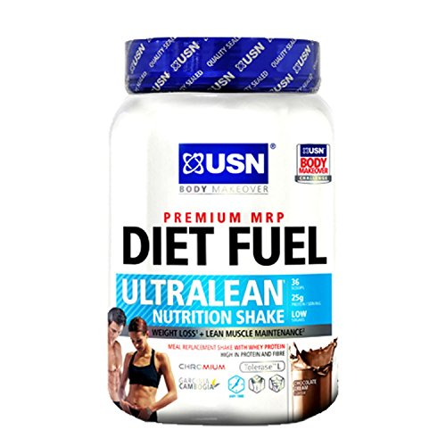 USN Diet Fuel Ultralean 1kg Strawberry Cream