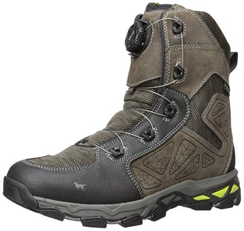 Irish Setter Men's Ravine Hiking Boot, brown/lime green, 10.5 D US
