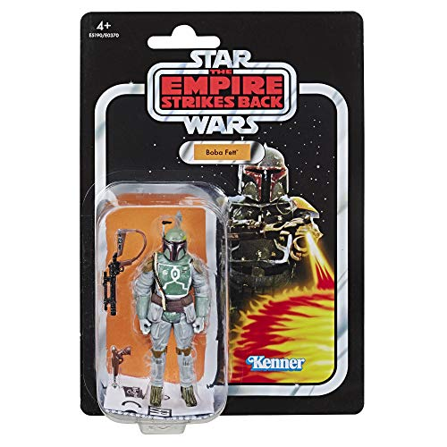 STAR WARS The Vintage Collection Episode V: The Empire Strikes Back Boba Fett 3.75'-Scale Action Figure – Collectible