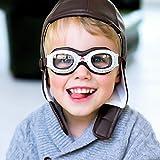 Baghera 32004 - Brillen- und Mützenset Set, für alle Baghera Tretautos, Rennfahrerset