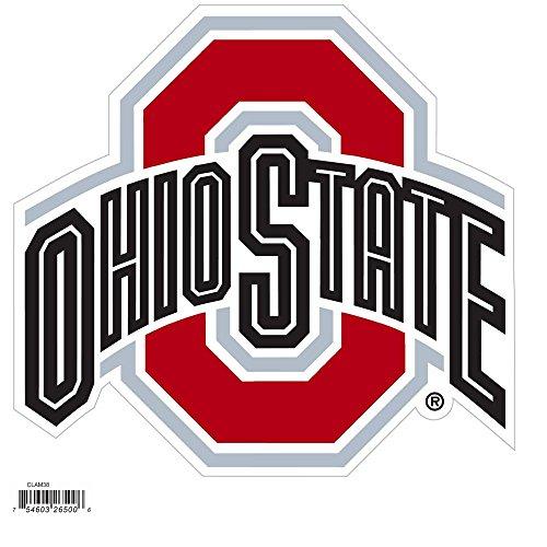 NCAA Siskiyou Sports Fan Shop Ohio State Buckeyes Logo Magnets 8 inch sheet Team Color