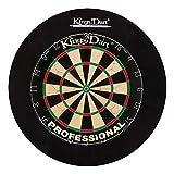 Kings Dart Dart-Set Profi | Turnier-Dartscheibe + Dart-Surround |...